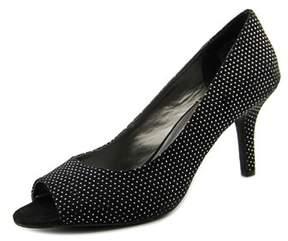 Andrew Geller Uriel Women Peep-toe Canvas Heels.