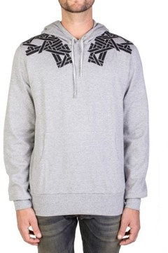 Christian Dior Geometric Print Hooded Sweatshirt Hoodie Grey
