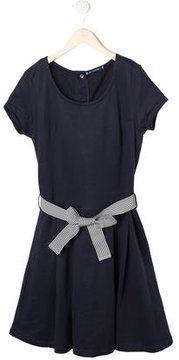 Petit Bateau Girls' Short Sleeve Dress