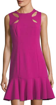 Alexia Admor Fit-and-Flare Cutout Cady Dress