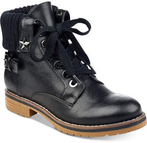 Tommy Hilfiger Oranda Lace-Up Booties Women's Shoes