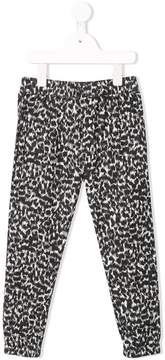 Finger In The Nose printed trousers