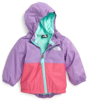 The North Face Infant Girl's Warm Storm Hooded Waterproof Jacket
