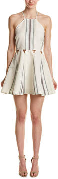 Dolce Vita Blanche Linen-Blend A-Line Dress
