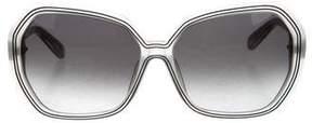 Diane von Furstenberg Oversize Charlene Sunglasses