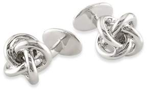 Bed Bath & Beyond Sterling Silver Knot Cufflinks