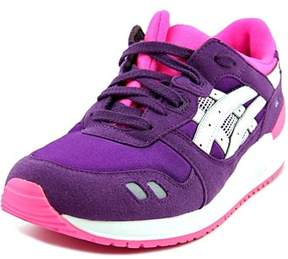 Asics Gel Lyte Iii Gs Youth Round Toe Synthetic Purple Sneakers.