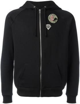 Saint Laurent multi-patch hoodie