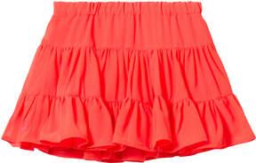 Lili Gaufrette Coral Tiered Skirt