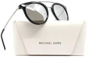 Michael Kors Women's Ila MK2056 2056 32716G Black/Silver Sunglasses 50mm