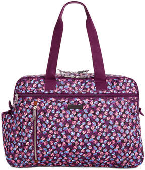 Vera Bradley Lighten Up Extra-Large Weekender Travel Bag - BERRY BURST - STYLE