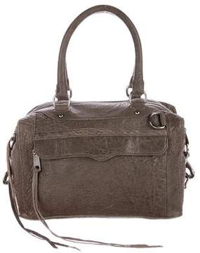 Rebecca Minkoff Leather M.A.B Satchel - BROWN - STYLE