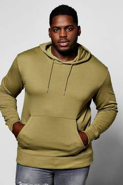 boohoo Big And Tall Basic Over The Head Hoodie