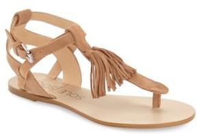 Sole Society Women's 'Pandora' Fringe Sandal