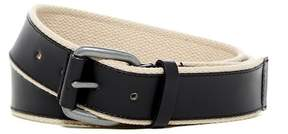 Cole Haan Leather & Webbing Belt