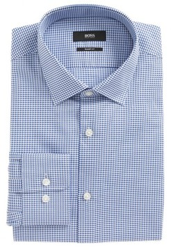 BOSS Men's Marley Sharp Fit Check Dress Shirt