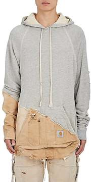 Greg Lauren Men's thedrop@barneys: Fleece & Canvas Hoodie