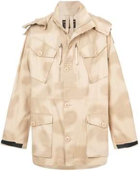 MHI loose fit hooded jacket