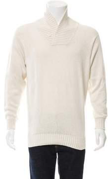 Loro Piana Shawl Collar Sweater