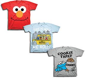 Freeze Sesame Street Three-Pack Tee Set - Toddler & Boys