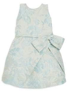 Helena and Harry Toddler's, Little Girl's& Girl's Blue Jacquard Dress