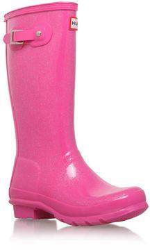 Hunter Glitter Finish Boots