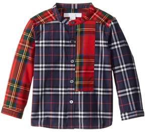 Burberry Argus Tuxedo Shirt Boy's Clothing