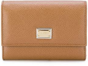 Dolce & Gabbana Dauphine wallet - BROWN - STYLE
