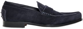 Tod's Boston Light Suede Loafers