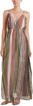 En Creme Total Printed Maxi Dress