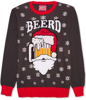 Hybrid Men's Santa Beerd Holiday Sweater