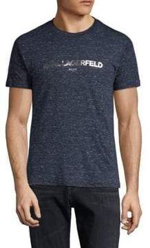 Karl Lagerfeld Short-Sleeve Logo Tee