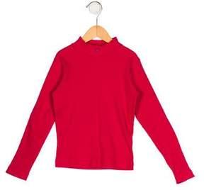 Lili Gaufrette Girls' Knit Long Sleeve Top