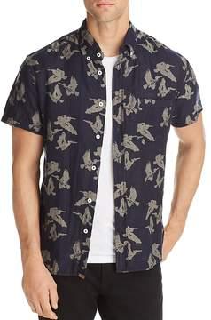 Billy Reid Tuscumbia Short Sleeve Button-Down Shirt