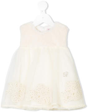 Miss Blumarine tulle skirt sleeveless dress