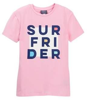 Toobydoo Tallulah Surf Rider Graphic Tee (Toddler, Little Girls, & Big Girls)
