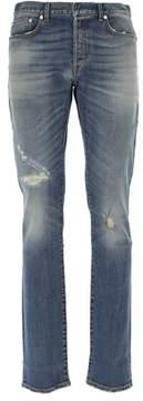 Christian Dior Men's Blue Cotton Jeans.