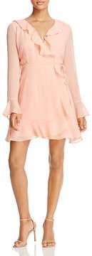 WAYF Gabby Long-Sleeve Ruffle Wrap Dress - 100% Exclusive