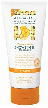 Andalou Naturals Mandarin Vanilla Vitalizing Shower Gel - 8.5 Oz