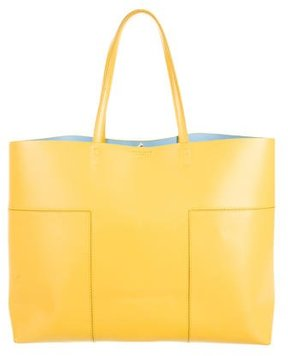 Tory Burch Block-T Tote - YELLOW - STYLE