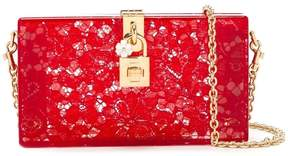 Dolce & Gabbana 'Dolce' box clutch - RED - STYLE