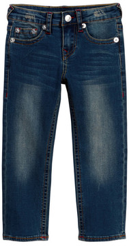 True Religion Slim Straight Jean (Toddler & Little Boys)