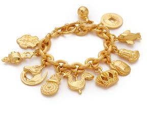 Ben-Amun 11 Pendant Chain Bracelet