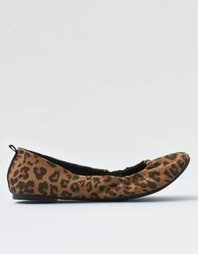 American Eagle Outfitters AE Leopard Print Flats