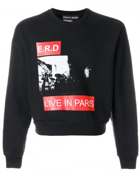 Enfants Riches Deprimes Live in Paris printed jumper