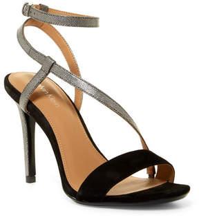 Calvin Klein Nissa Suede & Metallic Leather Sandal