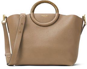 Michael Kors Skorpios Leather Market Bag - DUNE - STYLE