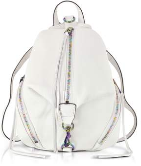 Rebecca Minkoff Bianco Leather Medium Julian Backpack - ONE COLOR - STYLE