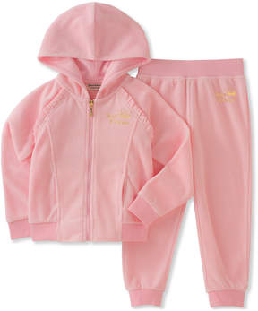 Juicy Couture Girls' 2Pc Hooded Set