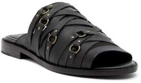 Kelsi Dagger Brooklyn Slope Leather Slide Sandal